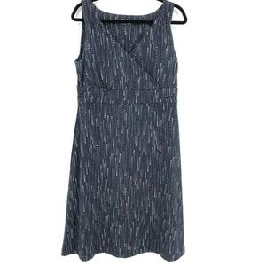 Eddie Bauer Polka Dots Knee Length Shift Dress